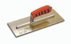 "Kraft 11"" x 4.5"" Golden Stainless Steel Trowel"