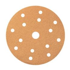 Smirdex 150mm Premium Velcro Abrasive 15 Hole Discs