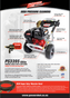 Powershot PS3395 3300psi, 9.5L/min Petrol Waterblaster Brochure
