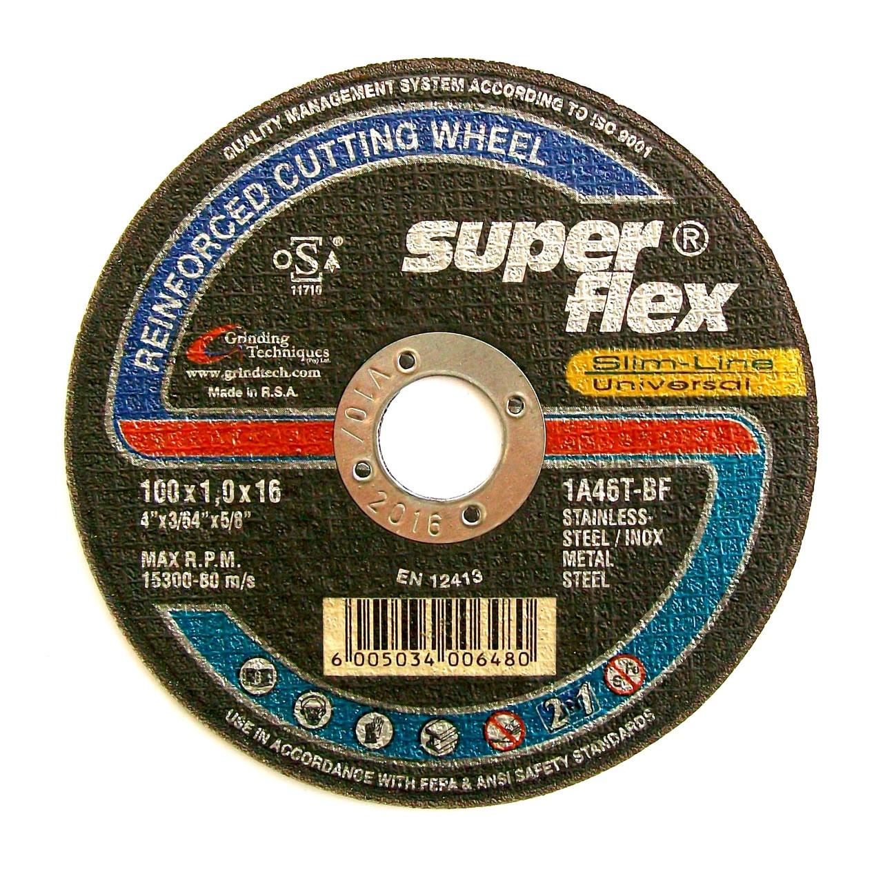 super flex thin inox a46t cut off wheels. Black Bedroom Furniture Sets. Home Design Ideas