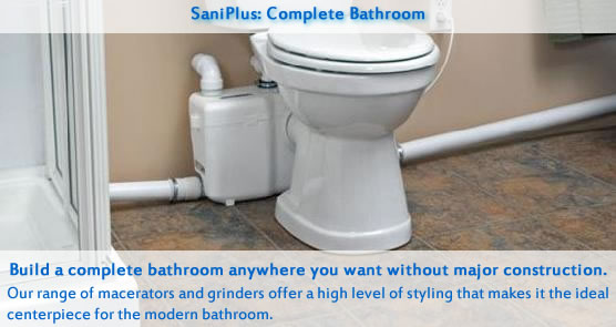 Saniflo is your number one source for saniflo sanitop - Cost to install toilet in bathroom ...