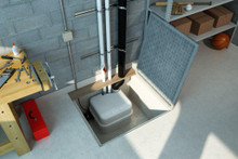 SaniCubic Duplex Grinder Installed