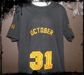 October 31 Boy Sports shirt