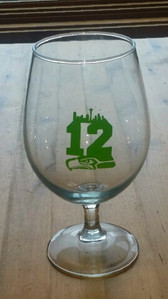 Seahawks 12 Glasses   Decals