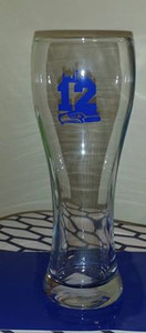 Seahawks 12 Glass with decal
