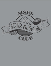 Drama logo water bottle