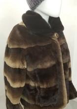 Natural Mahogany Mink Jacket
