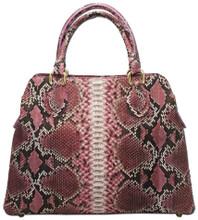 Jessamine - Python Bag Pink w/ Natural Markings
