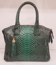 green glazed small Italo bag