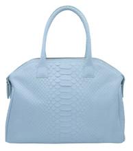 Italo - Python Bowling Bag - White Matte