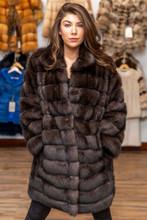 Sable coat size 48