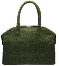 Italo - Alligator Bowling Bag - Green