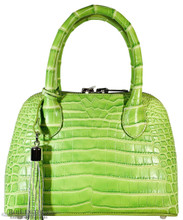 Patrice - Nile Crocodile - Matte 2 Tone Green (Medium)