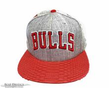 Bulls Official Python Brimmed  Snapback Ballcap