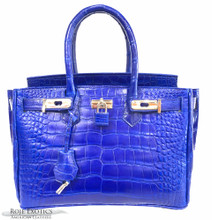 Classic 30 - American Alligator - Blue Millennium Finish