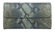 Seamless  - Python - Handprinted -  Metallic  Bronzed