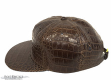 American Alligator Mitchell and Ness Snapback Hat - Brown