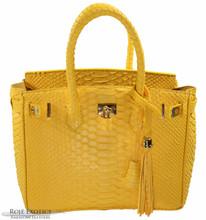 Classic 30 - Yellow Matte Python