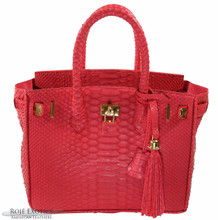 Classic 30 - Red Matte Python (Gold Edition)