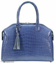Italo - Nile Crocodile - Matte Waxy Mod Blue