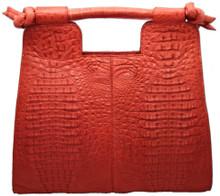 Resort Bag - Caiman Hornback in Red