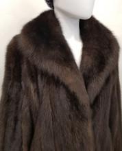 Dark Russian Sable coat