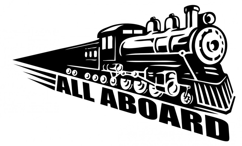 Train Wall Decal Decalmywall Com