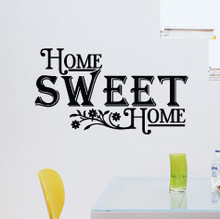 wall quotes, home sweet home