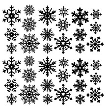Snowflakes Pack 2 (36ct)