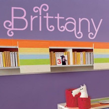 Cute Kids Letters Wall Decals
