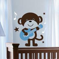 Kids Wall Decals, Monkey Wall Decals, Nursery Wall Decals