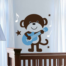 Kids Wall Decals, Monkey Wall Decals, Nursery Wall Decals
