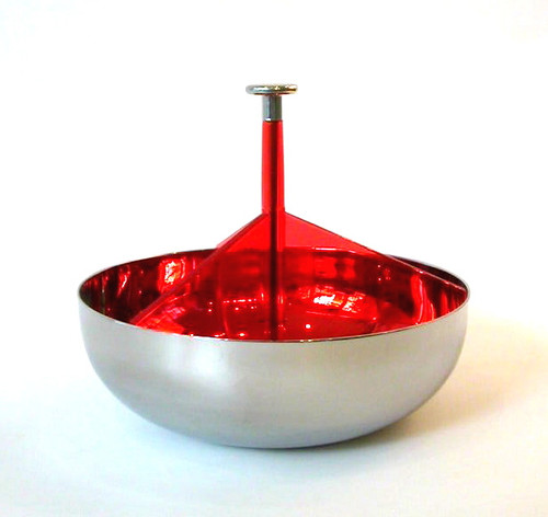 PCH01 Dish with Handle red