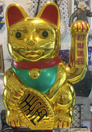 Japanese Lucky Cat / Maneki-Neko XL Sculpture