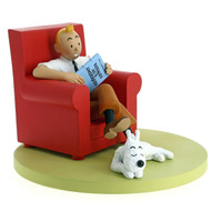 Tintin Icons Red Armchair