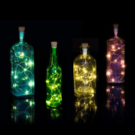 Multicolour Bottle String Lights / USB Rechargeable