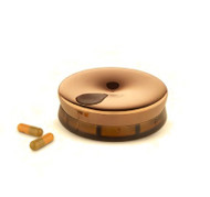 Yoyo golden pink/brown