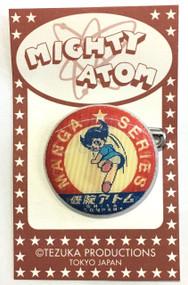 Mighty Atom-Astro Boy and Uran Manga Lenticular Pin Round