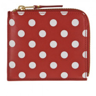CDG Polka Dots Printed SA3100PD red
