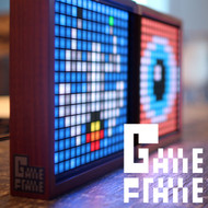 Game Frame / Eboy Pixel Digital Art Clock