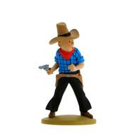 Tintin Figure Cowboy
