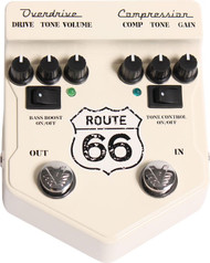 Visual Sound V2 Route 66  Overdrive/Compression Pedal