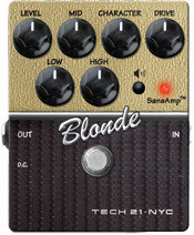 Tech 21 Sansamp Blonde Character Series Pedal (v2)