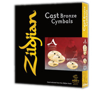Zildjian A Custom 4 Pack Matched Promo Box Set