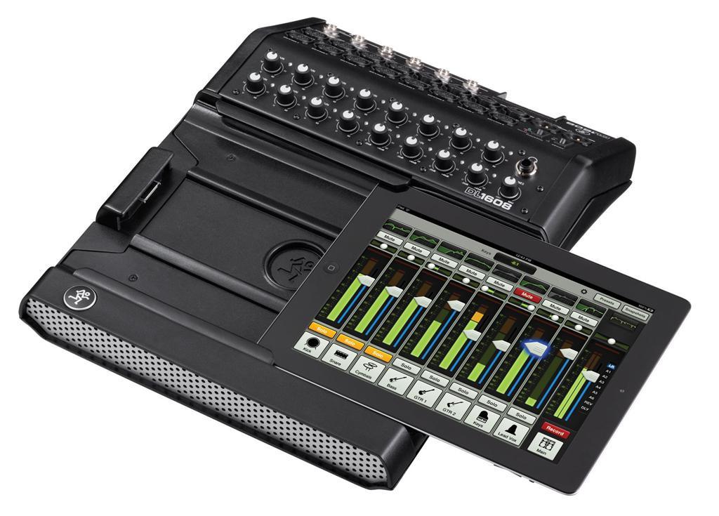 Mackie DL1608 16-channel Digital Live Sound Mixer w/ iPad Control