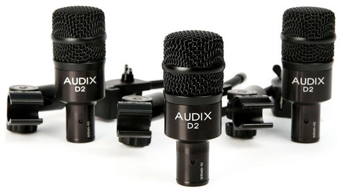 Audix D2 Trio - 3-Pack of D2 Microphones