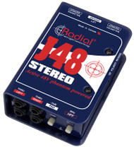 Radial J48 Stereo Phantom Powered Active Direct Box
