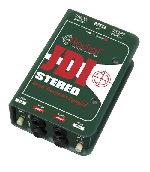 Radial JDI Stereo Passive Direct Box