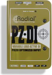 Radial PZ-DI™ Orchestral Instrument DI
