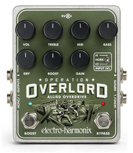 Electro Harmonix Operation Overlord Overdrive Pedal